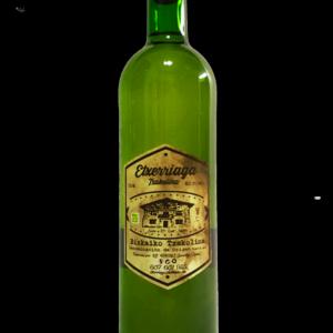 botella de txakoli